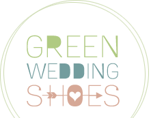 Our Minimalist Modern Marsala shoot is featured on Green Wedding Shoes!