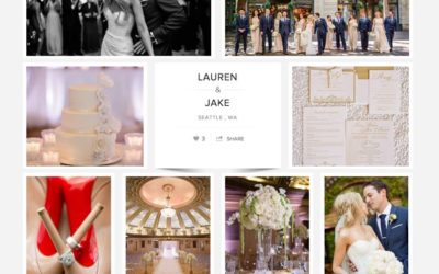 Lauren & Jake's Arctic Club Wedding by Alante Photography, featured on Carats & Cake!