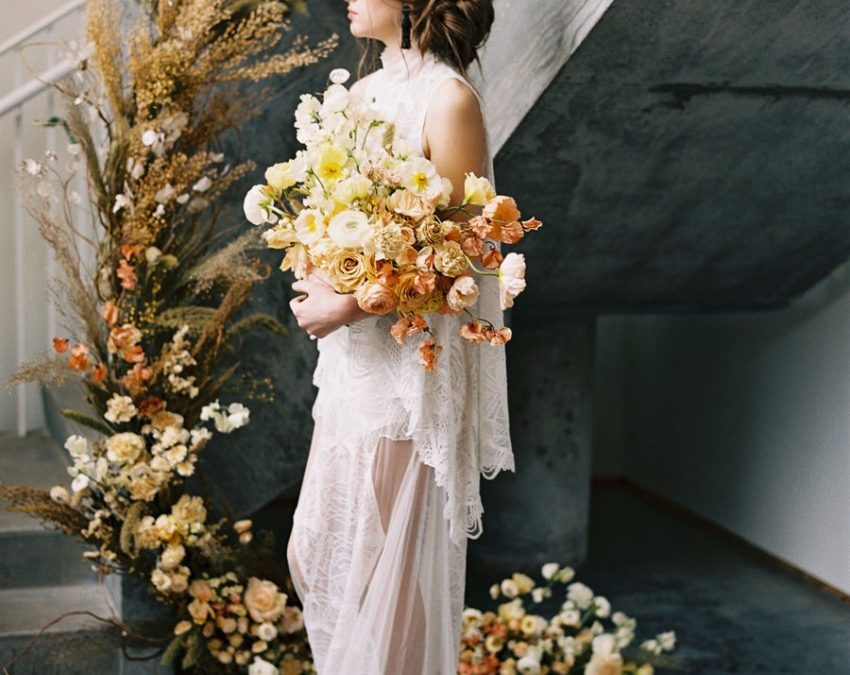 Our Modern Boheme Styled Shoot is featured on Hochzeitsguide